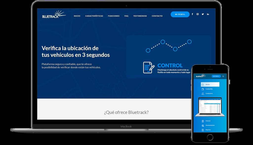 Bluetrack