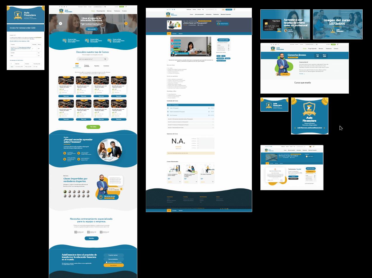aulafinananciera-adobexd-prototype-woocommerce-wplms-raylinaquino-financialweb
