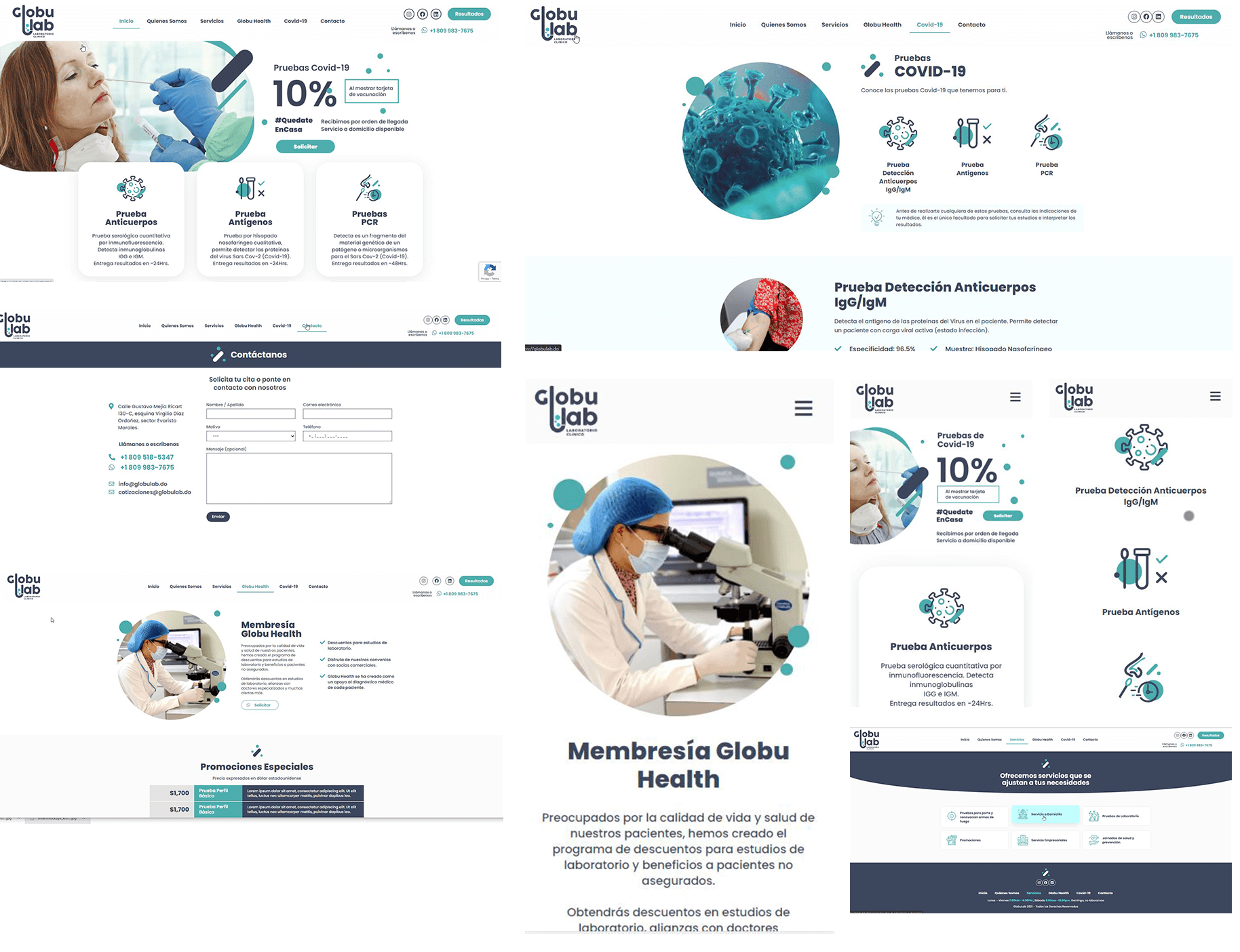 globulab-design-mockup-adobe-xd-wordpress-laboratory-website-raylin-aquino